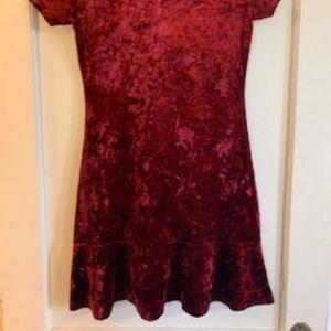 Crushed Velvet Dress Forever 21